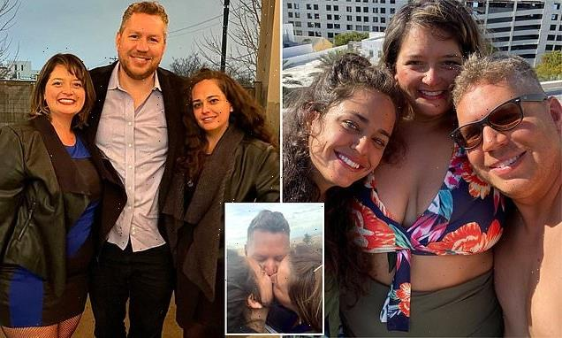 Divorcee who met boyfriend on Tinder forms throuple with Bumble date