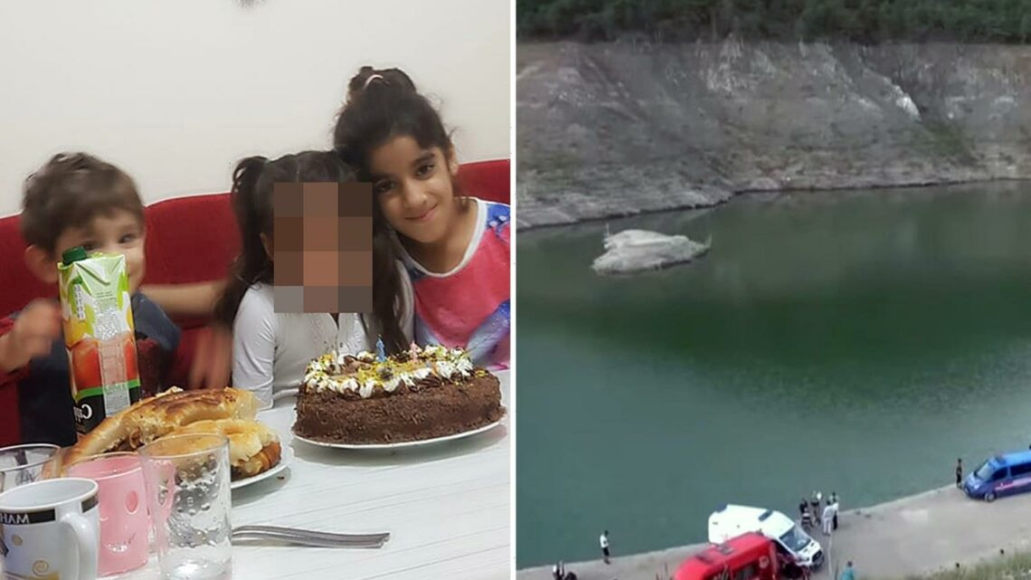 Drowned boy, 3, found holding hand of sister, 9, at bottom of lake after she & three relatives die trying to save him