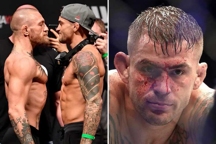 Dustin Poirier eyeing 'blood and guts war' with Conor McGregor as he predicts 'motivated' Notorious to return at UFC 264