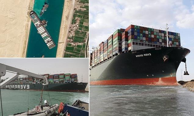 Egypt gets set to release megaship which blocked the Suez Canal