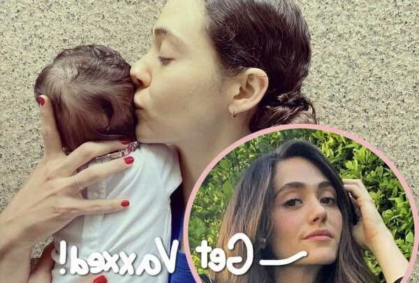 Emmy Rossum Reveals She Got Vaccinated While Pregnant AND Her Daughter Has COVID Antibodies!