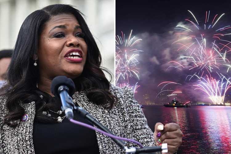 Fury as Squad member Cori Bush blasts July 4 by saying holiday 'celebrates white freedom' and 'black people aren't free'