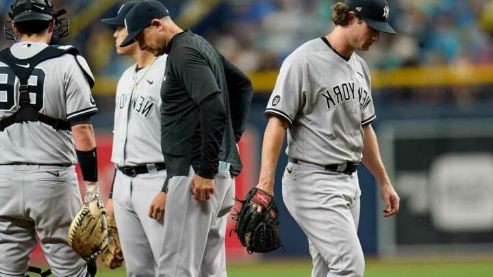 Gerrit Cole pounded in 14-0 Yankees embarrassment