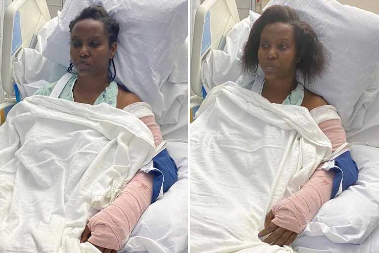 Haiti president's wife Martine Moïse shares first hospital pics & says 'I can't believe my husband died before my eyes'