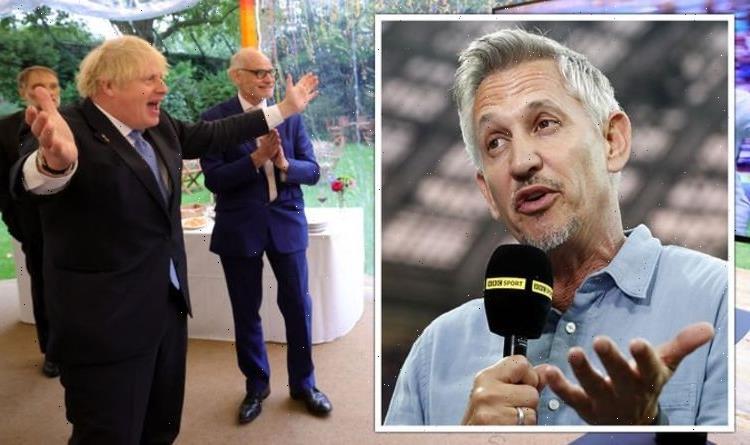 How Gary Lineker ranted at Boris Johnson for 'jumping on football bandwagon'