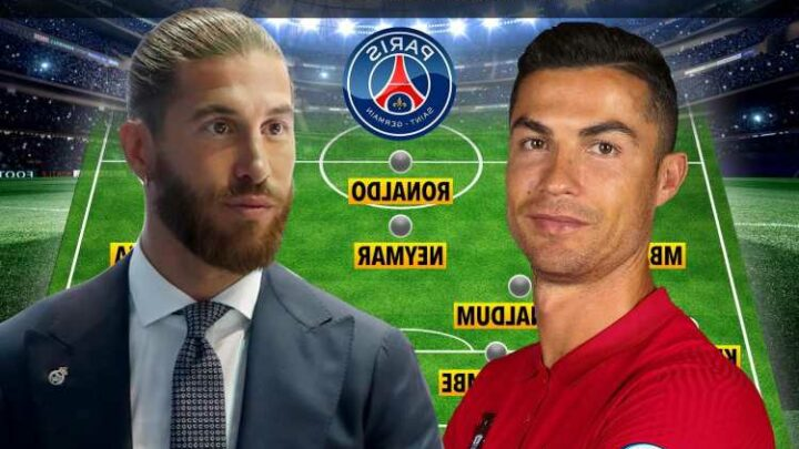 How PSG could line-up with Cristiano Ronaldo, Paul Pogba and Sergio Ramos joining mouthwatering new-look XI