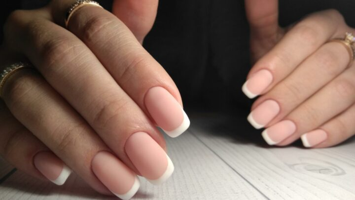 How To Pull Off A Matte French Manicure