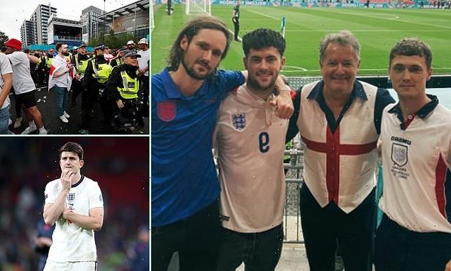 How double-jabbed PIERS MORGAN caught Covid in Wembley chaos