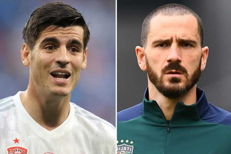 Italy defender Bonucci fears Juventus pal Morata will have a major point to prove when they face Spain in Euro 2020 semi