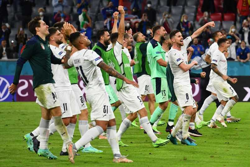 Italy extend amazing unbeaten run to 32 with Belgium win and now just three behind all-time record held by two countries