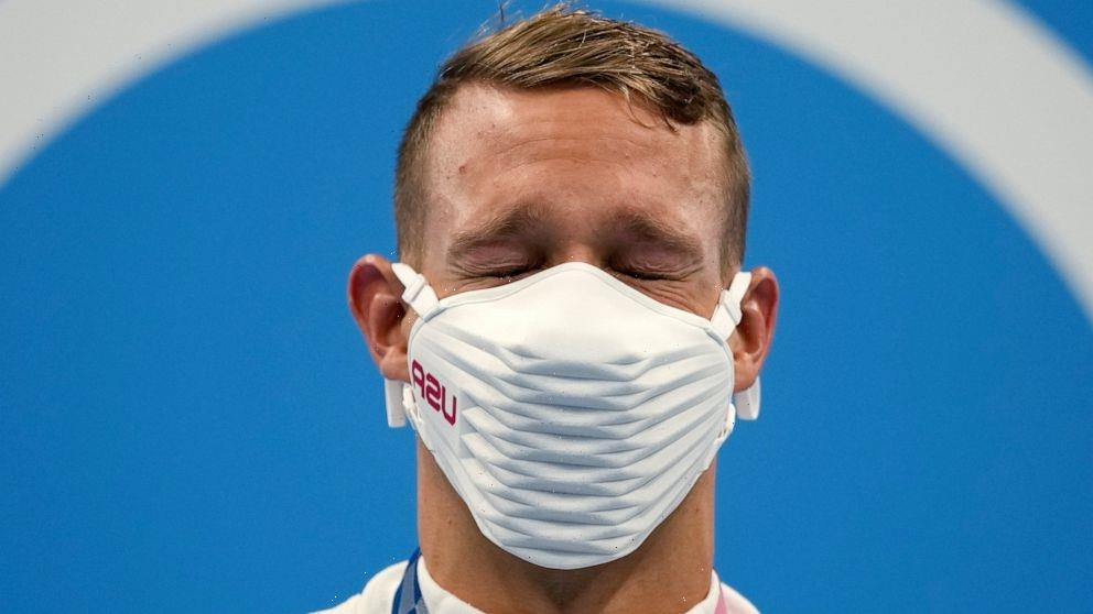It's a keeper: Caeleb Dressel wins Olympic gold on his own