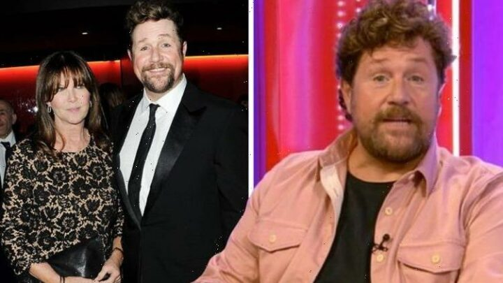 'It's irrelevant!' Michael Ball hits out at mention of 20-year age gap with partner Cathy