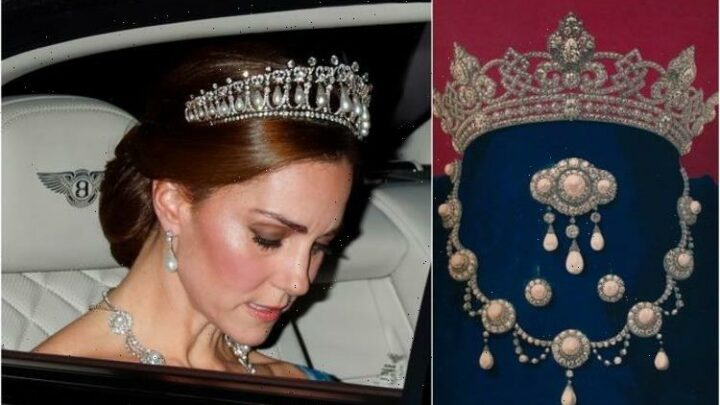 Kate Middleton has borrowed £2m worth of Queen's jewellery – including historical necklace