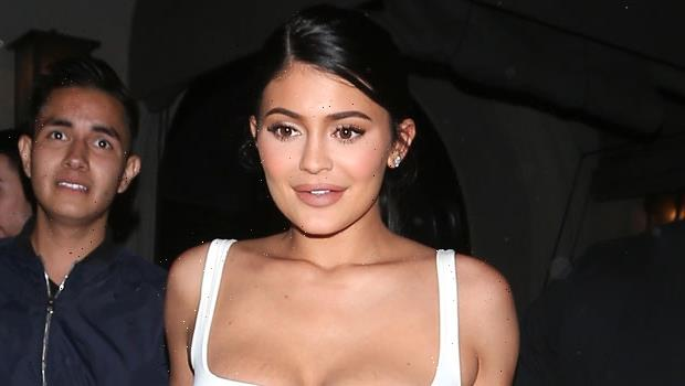 Kylie Jenner Rocks Black Crop Top For An Intense At-Home Workout – Watch