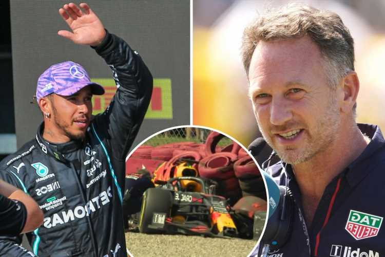 Lewis Hamilton hits back over 'hollow' comments made by Red Bull boss Christian Horner after Max Verstappen crash row