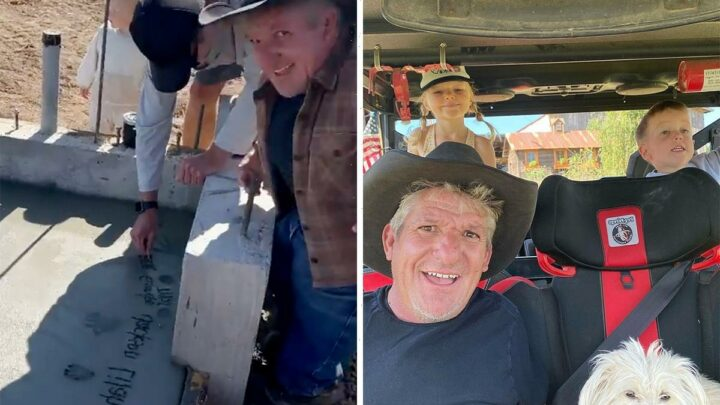 Little People's Matt Roloff gets visit from grandkids & starts 'project' on farm just one month before ex Amy's wedding