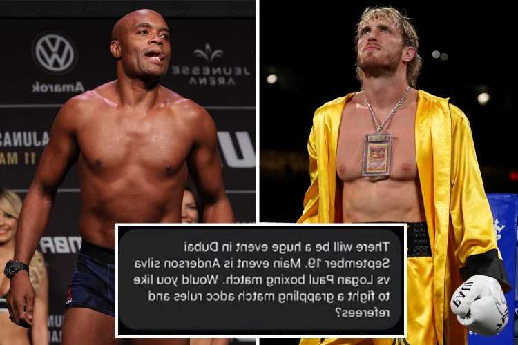 Logan Paul to fight UFC legend Anderson Silva in September in 'huge event', according to leaked Instagram message