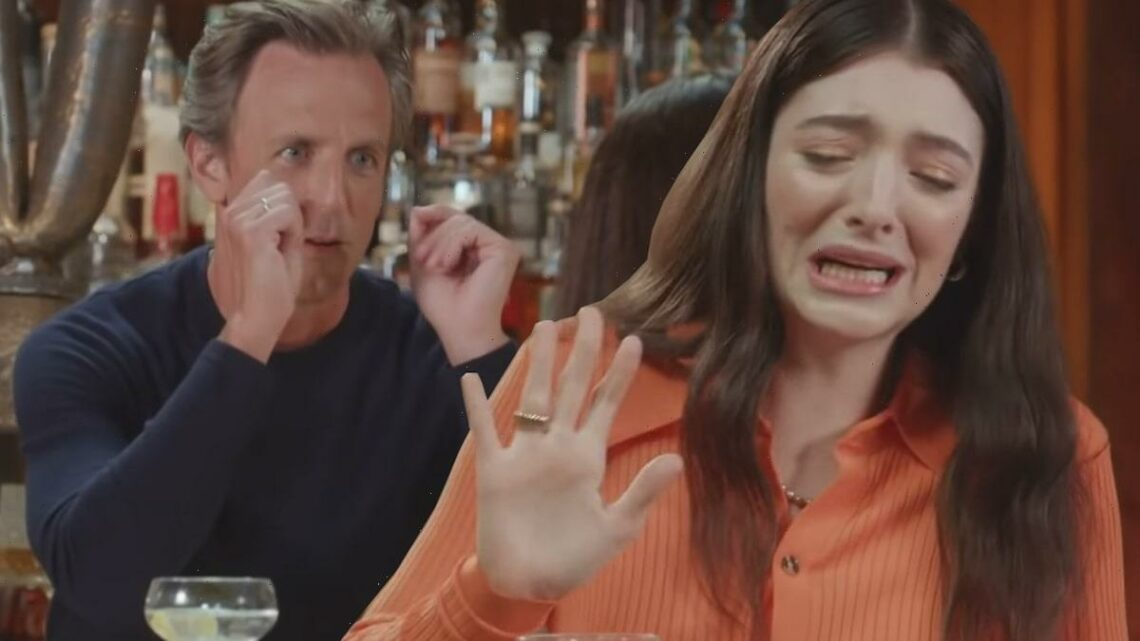 Lorde Needed an IV After Filming This Day Drinking Segment with Seth Meyers