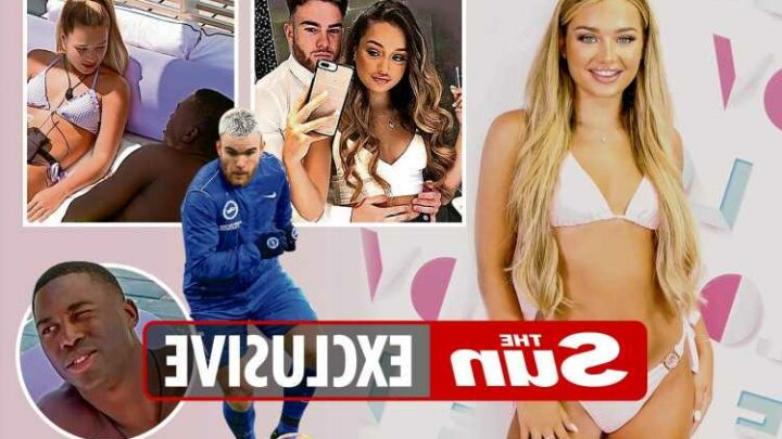 Love Island's Lucinda Strafford back with Prem ace ex before entering villa & he's dog-sitting as she flirts with fellas