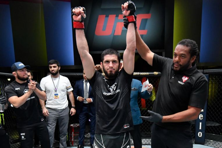 MMA: Makhachev submits Moises in round 4 at UFC, Tate beats Reneau by TKO