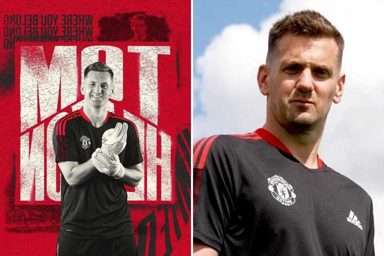 Man Utd re-sign Tom Heaton on free transfer as keeper, 35, returns to club 11 years after leaving