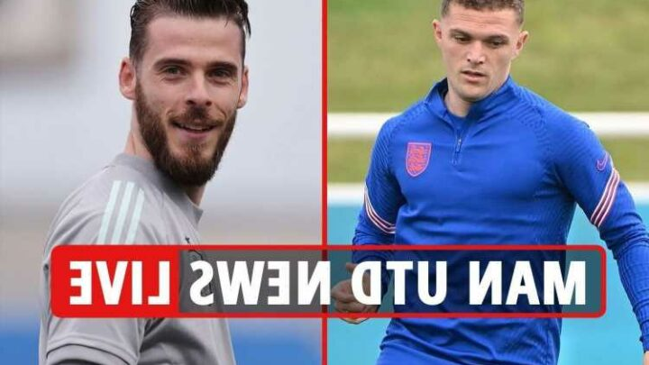 Man Utd transfer news LIVE: Trippier in talks to buy Sterling's £3m Cheshire mansion EXCLUSIVE, Varane and Sancho latest