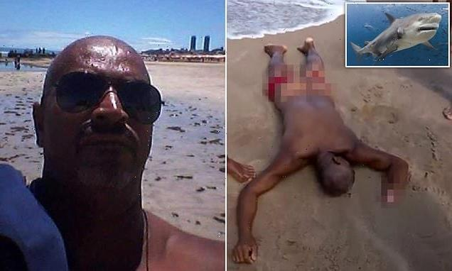 Man killed in shark attack after wading into the sea to urinate