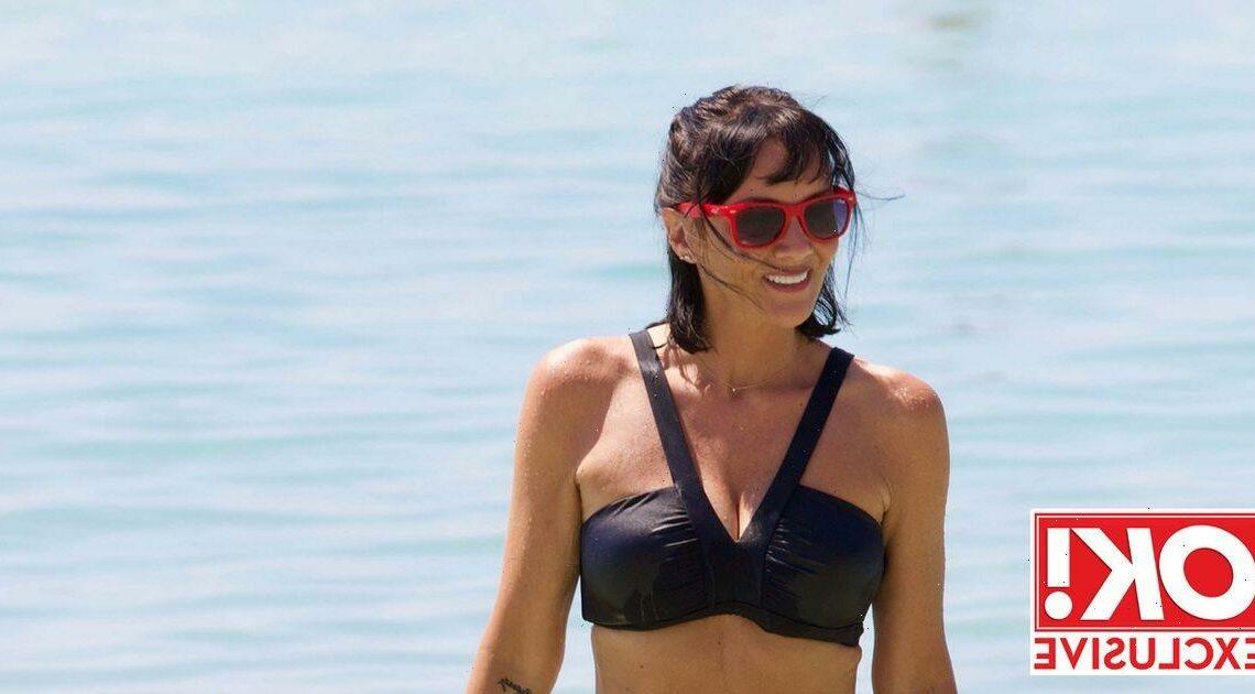 Martine McCutcheon shows off incredible bikini body as she admits she 'feels her best'