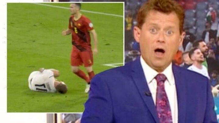 'Maybe the goal masked the pain' Mike Bushall mocks 'pathetic' Italy striker Immobile