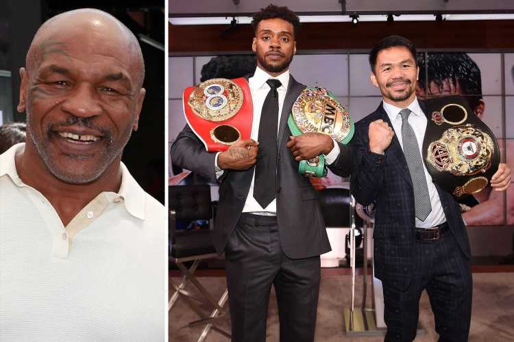 Mike Tyson predicts Manny Pacquiao will beat Errol Spence Jr as 42-year-old's movement 'f***s everybody up'