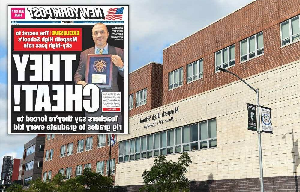 NYC DOE removes Maspeth HS principal for role in grade-fixing scandal