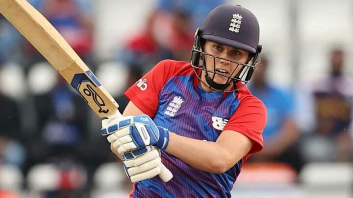Nat Sciver's record-breaking fifty propels England to 18-run win over India in first T20 on DLS method