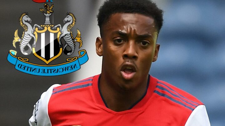 Newcastle boss Steve Bruce still 'badgering away' to seal Joe Willock loan transfer return from Arsenal