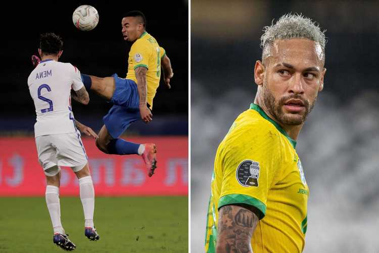 Neymar and Gabriel Jesus slam Copa America chiefs as Man City star is banned from final showdown with Argentina