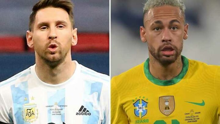 Neymar lashes out at Brazil fans supporting Argentina legend Lionel Messi in Copa America 2021 final