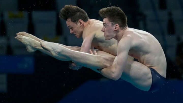 No golden sweep for China's divers: Brits win 10M synchro