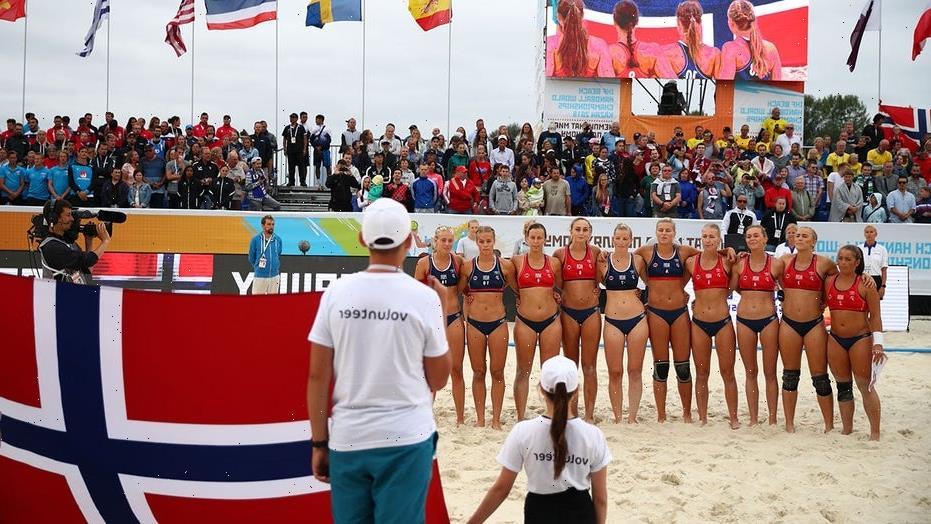 Norway beach handball team members slam bikini rule: 'No good reason' for it