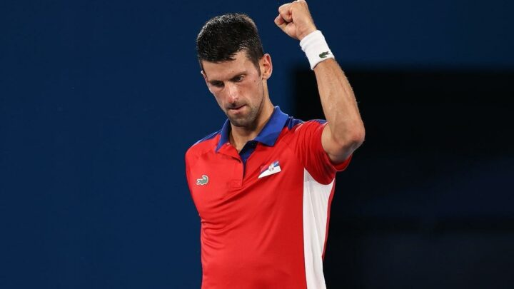 Novak Djokovic claims 'pressure is a privilege' as bid for Olympic glory continues
