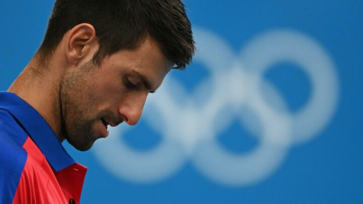 Novak Djokovic lost in the Olympic semifinal, the 'Golden Slam' dream is dead