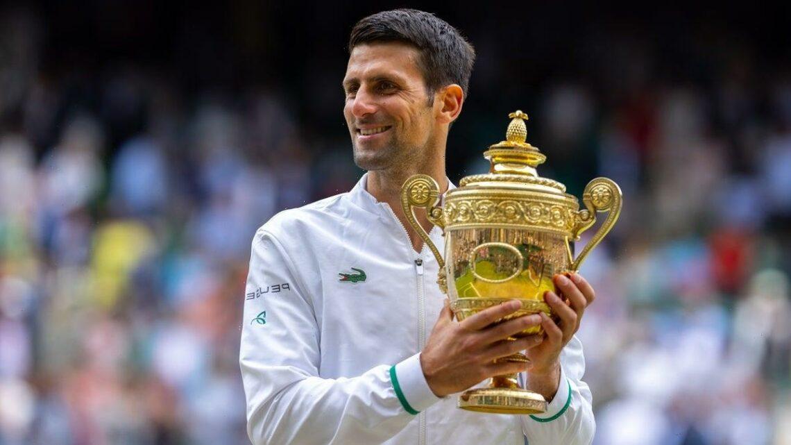 Novak Djokovic shows no sign of slowing down as he closes on calendar Grand Slam