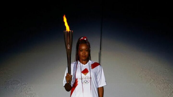 Olympics: Tennis star Naomi Osaka lights flame as Tokyo's 'games of hope' open