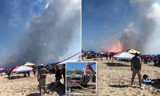Premature fireworks explosion cancels Maryland 4th of July celebration