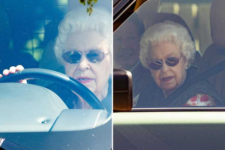 Queen spotted at Sandringham as she returns for first time since Prince Philip's death