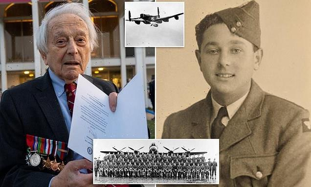 RAF's 617 Squadron hero Lawrence 'Benny' Goodman dies aged 100