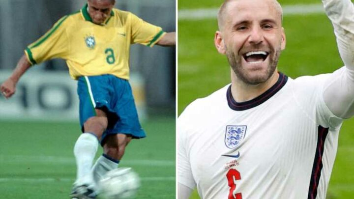 Roberto Carlos hails England hero Luke Shaw after incredible Euro 2020 as Brazil legend predicts 'he can get to the top'