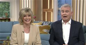 Ruth Langsford slams husband Eamonn Holmes' 'pathetic' first choice name for son