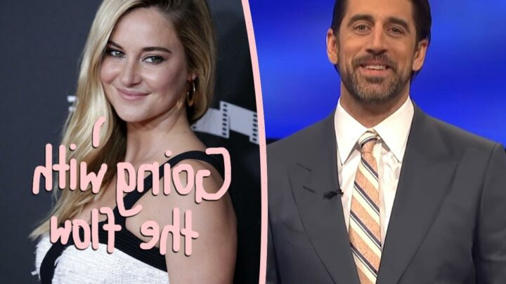 Shailene Woodley & Aaron Rodgers Are In 'No Rush' To Get Married
