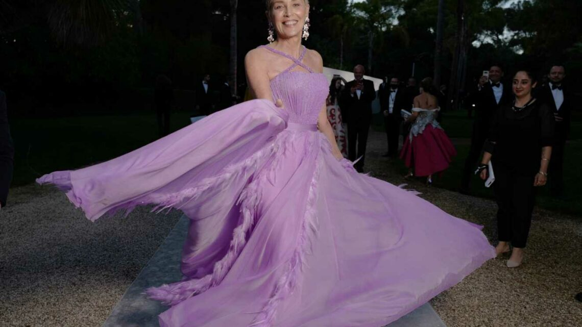 Sharon Stone, Alicia Keys and Orlando Bloom Unite for amfAR Gala