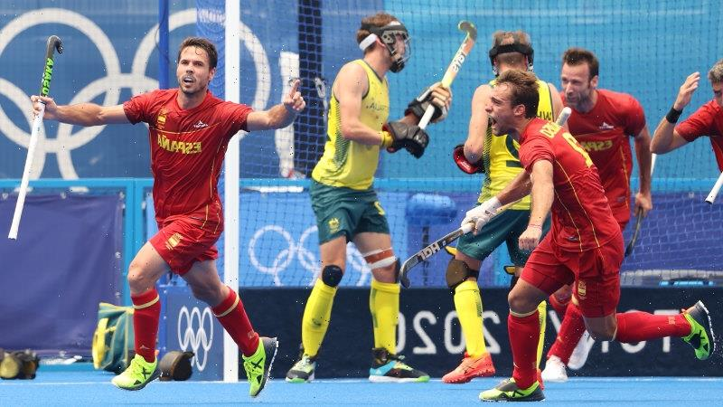 Spain hold Kookaburras to a draw with last-gasp goal