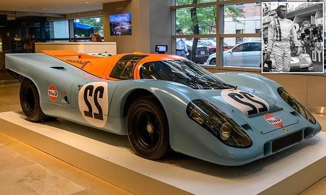 Steve McQueen's 1970 Porsche 917K set to fetch $18.5M in auction